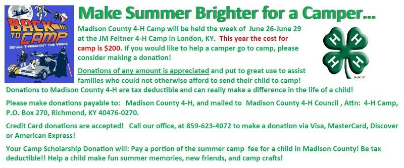 Make Summer Camp Brighter